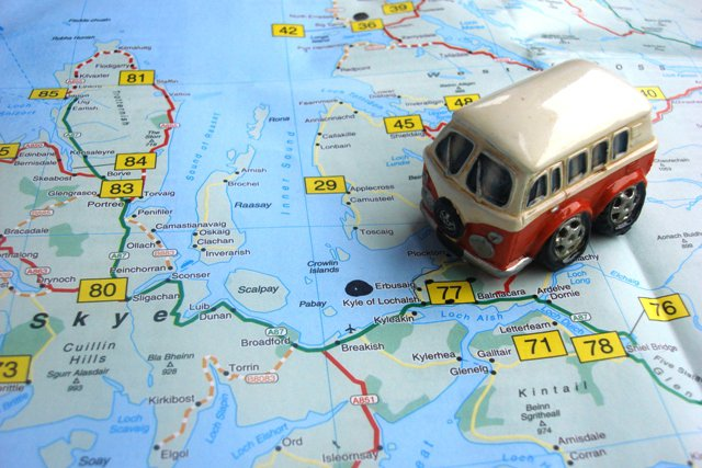 Top summer road trip route in the USA